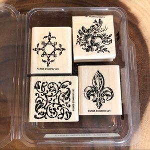 🆕Stampin Up Timeworn Trim Stamp Set